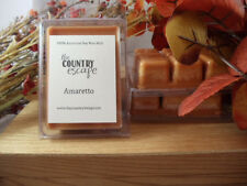 Amaretto Soy Wax Clamshell Melt Tart- 2wks of Fragrance