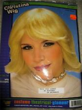 NEW blonde Glamour Christina Wig Synthetic FORUM HALLOWEEN costume theatrical