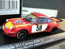 PORSCHE 911 RSR Carrera GELO Loos Le Mans 1975 #58 Schurti Minichamps 1:43