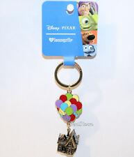 "Loungefly Disney Pixar UP Carl's house balloons Keychain Key Ring Chain 3"" Long"