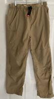 North Face, Women's, Nylon Packable Hiking Pants, Sz M Attached Belt