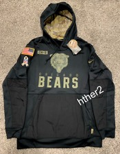 AUTHENTIC Nike 2020 Chicago Bears Salute to Service Hoodie All Sizes IN HAND
