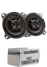Sony Koax Lautsprecher Auto KFZ Einbauset für Fiat Cinquecento Armaturenbrett