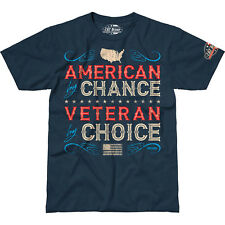 Veteran By Choice T-Shirt- 7.62 Design Men's Dark Blue Tee Shirt