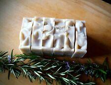 "Handmade and 100% Natural soap bars,""Rosemary, nettles & sage"" facial, body soap"