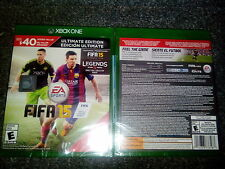 FIFA 15 Ultimate Team Edition Xbox One 2014  BRAND NEW