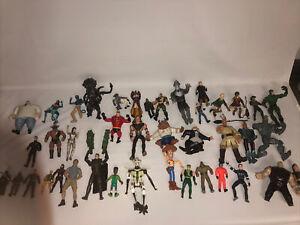 huge mixed action figure lot 41 Figures Various Alien Steve Irwin Harry Potter