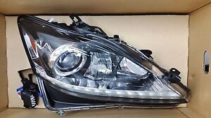 LEXUS OEM FACTORY PASSENGER HEADLAMP ASSY. 2013-2014 IS F 81145-53674