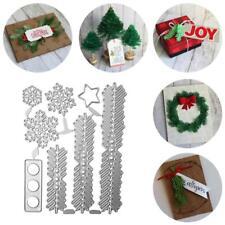 Christmas Tree Cutting Dies Stencil Scrapbooking Paper Embossing Album Decor UK