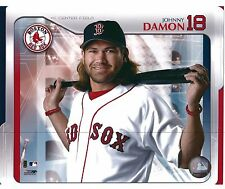 "Johnny Damon - Boston Red Sox -Set of 5 Different  8"" x 10"" Photo"