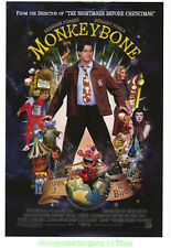 MONKEYBONE MOVIE POSTER  Original SS 27x40 BRENDAN FRASER ROSE MCGOWEN 1999