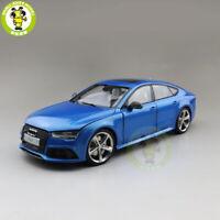 1/18 Audi RS 7 RS7 KengFai Diecast Metal Model Car Toys Boys Gifts Blue