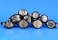 WWE Jakks Championship Belts Lot Wrestling Figure Accessory ECW Tag Winged_s10