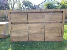 3 door 3 drawer sideboard Cabinet Vedde Oak