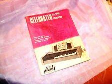 "Vintage ""Celebrated"" All Time Favorites Chord Organ Book"