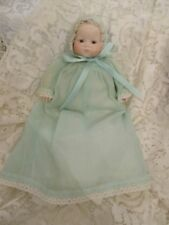 Reproduction Bye Lo Cloth and Bisque Doll By Virginia Geer of Syracuse, Ny