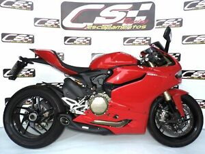 2012-15 Ducati 1199 Panigale CS Racing Slip-on Exhaust | Great Sound (+2.5hp)