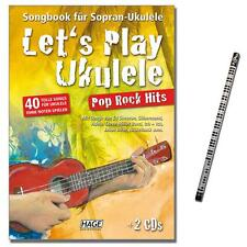 Let 's play ukulele-pop rock hits avec 2cds-eh3957 - 9783866263642