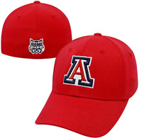Arizona Wildcats Hat Cap Memory One Fit One Size Fits Sizes 7 1/4 thru 8 NWT RED