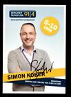 Simon Kober Autogrammkarte Original Signiert # BC 133693