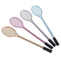 Kids PVC Badminton Racket Fluffy Slime Form Crystal Putty Cream Keyboard Toy DIY