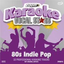 Zoom Karaoke 80s Indie Pop CDG ZVS 015