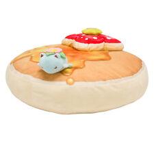 Pokemon Center Original Dessert Plate Pancake Cushion Marzipan Venusaur Hot cake