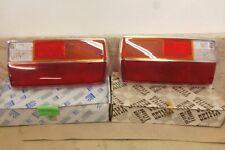 NOS PAIR Made In France LH / RH PEUGEOT 304 1969-80 TAILLIGHT LAMP LENSES