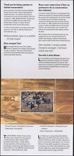 CANADA 2012 DUCK STAMP MINT IN FOLDER AS ISSUED BLUE WINGED TEAL by P. Pepin