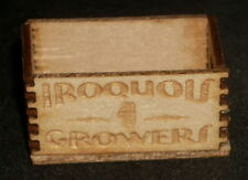 Dollhouse Miniature Iroquois Growers Produce Crate 1:12 Farm Food Market Store