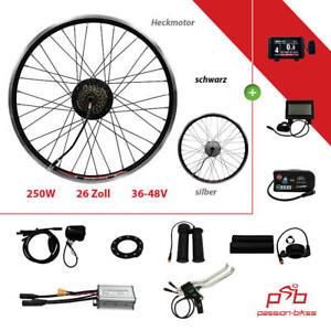 "E-Bike/Pedelec Back Wheel Conversion Kit 250 Watt Heck Motor 26 "" ~ KT3 Display"