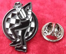 Ska Man Mod Mods Lapel Hat Tie Pin Badge Reggae Two Tone Brooch