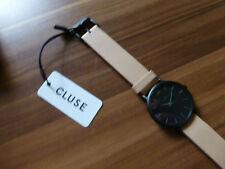 NEUE CLUSE Minuit Full black sehr schöne Damen Armbanduhr CL30027 schwarz/nude