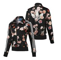 New Adidas Original Firebird Track Top Floral Roses Jacket for women's F78292