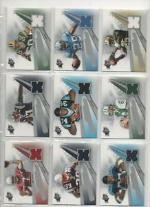 UPPER DECK SPX NFL 2006 ROOKIE SWATCH SUPREMACY      CHOOSE FROM LIST