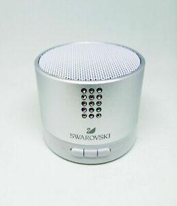 Bluetooth Speaker silver Swarovski