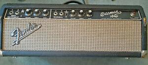 1965 Fender Bassman Blackface Tube Amp AA165