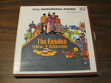 The Beatles - Yellow Submarine - 4 Track Stereo Reel to Reel - 3 3/4 IPS