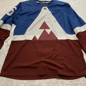 Adidas Colorado Avalanche Erik Johnson #6 Authentic NHL Jersey GF1294 Size 54