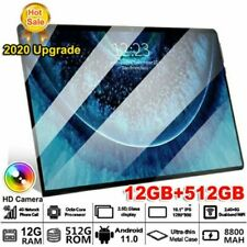 "11.6"" Black Tablet 512GB+12GB *Read Description* | Dual SIM, Ten Core Android"