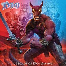 DIO - A Decade Of DIO 1983-1993 Heavy Metal Black Sabbath Sticker or Magnet