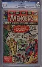 Avengers #1 - CGC Graded 2.5