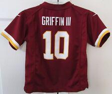 NFL Washington Redskins RG3 Robert Griffin III  #10 Jersey EUC Size Child Large