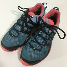 Adidas Womens Hiking Trail Shoes AX2 Blue Trail 2015 Low Top Outdoor Lace Up 7 M