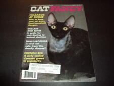 Cat Fancy Mar 1989 Hazards At Home, Cornish Rex Id:47728