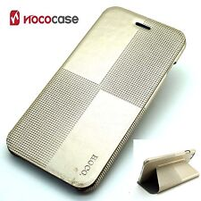 Leather HOCO CRYSTAL FASHION Wallet Book case for APPLE IPHONE 6 PLUS- GOLD