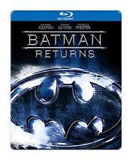 BATMAN RETURNS (Steelbook Edition) -  BLU RAY - Sealed Region free