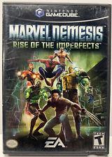 Marvel Nemesis Rise Imperfects Nintendo GameCube Complete CIB NTSC Black Label