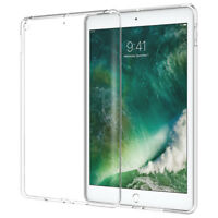 Clear TPU Soft Silicone Gel Case Back Cover For iPad Pro Mini 2 3 4 5 6 Air 2017