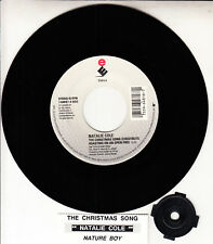 "NATALIE COLE  The Christmas Song (Chestnuts Roasting On An Open Fire) 7"" 45 NEW"